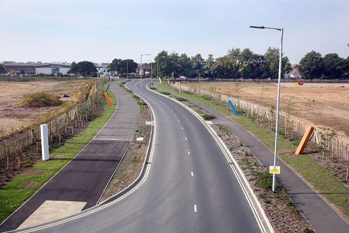 ROADS TO FUTURA PARK OPENED
